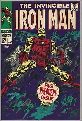 The Invincible Iron Man #1 -avengers -marvel Comics