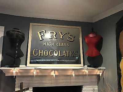 Antique Original Advertising Fry