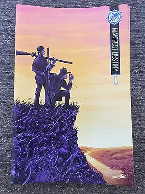 Manifest Destiny 1 Skybound 5th Anniversary Sdcc Box Set Exclusive