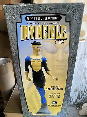 Invincible Comic Mark Grayson Statue Cs Moore Studio New Limited Edition