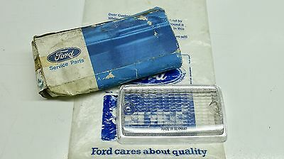Mk1 Escort Mexico Rs2000 Twin Cam Gen Ford Nos Clear Chrome Edged Flasher Lens