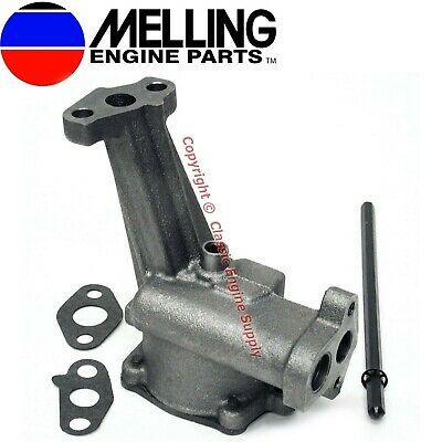 New Melling M83hv High Volume Oil Pump & Drive Shaft Ford Sb 351w 5.8l Windsor