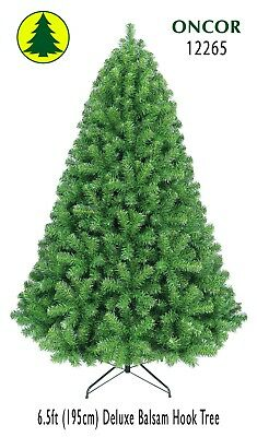 6.5ft Eco-friendly Oncor Deluxe Balsam Christmas Tree