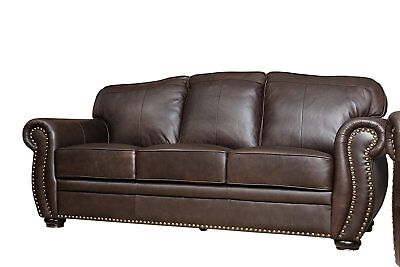 Leather Chesterfield Sofa Restoration Hardware Leather Couch Sofa Traditional