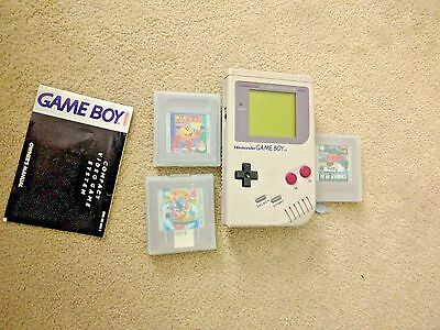 Nintendo Game Boy Original Dmg-01 Plus Games