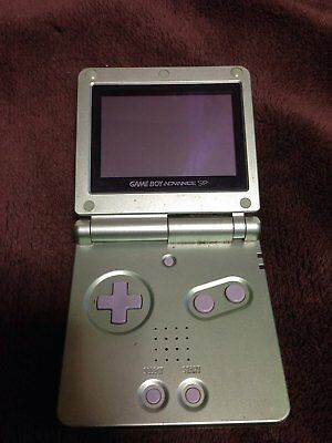 Game Boy Advance Sp Pearl Green Toys R Us Original Color Japan :174
