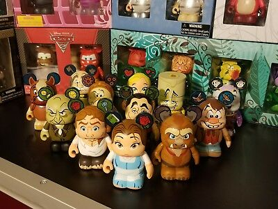 Beauty And The Beast Series 1 Vinylmation - Set Of 12 Including Chaser