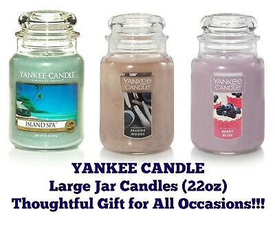 Yankee Jar Candles 22oz Jar Candle Thoughtful Gift--any Occasion--buy 2