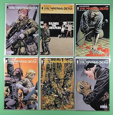 """The Walking Dead #151, 152, 153, 154, 155, 156 Set ~ """"call To Arms"""""""