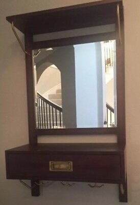 Pottery Barn, Nib, Draper Mirrored Entryway Organizer, Sold Out @ Pottery Barn