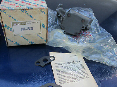 (nos)new In Box Melling M83 Stock Volume Oil Pump Ford Sb 351w 5.8l Windsor