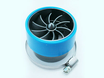 55mm Supercharger Power Air Intake Turbonator Fan Turbine Gas Fuel