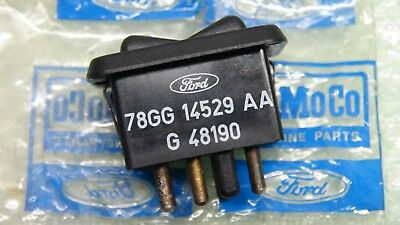 Mk2 Granada Genuine Ford Nos Power Window Switch