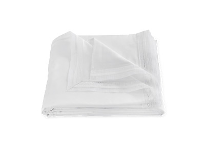 Matouk Grace Full/queen Duvet Cover - White
