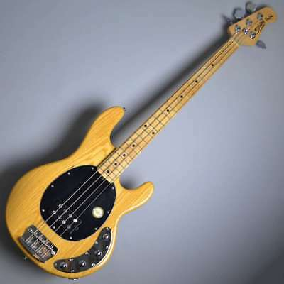 Sterling By Music Man Ray34 M Natural Electric Bass Guitar With Gig Case