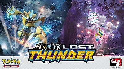 Pokemon Sun and Moon: Lost Thunder - Reverse Holo Singles - Choose your Cards