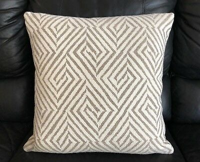 New, Highland Court By Duralee Gray Abstract Woven Throw Pillow.