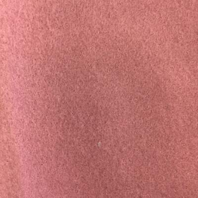 Dusty Pink Velour Wool Fabric | 80/20 | 22oz | Bty