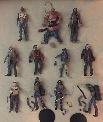 ~l00se~11 Walking Dead Figures No Missing Accessories 1st Michone Early Walkers