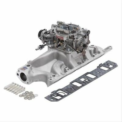 Edelbrock Manifold And Carb Kit Performer Rpm Small Block Ford 289-302