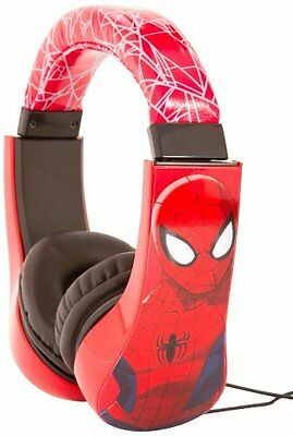 Spiderman Safe Earphone Headset Headphone Video Game Computer Tablet Toy Music