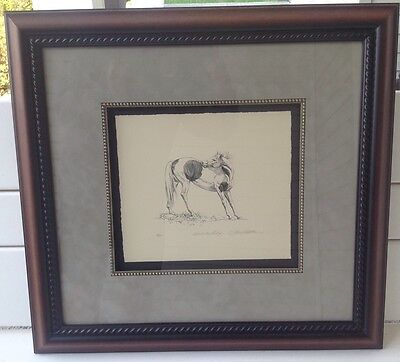 """Bev Doolittle """"reach For Relief"""", Stone Lithograph, S/n 13/20, Framed, Very Rare"""