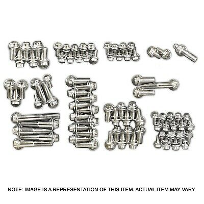 Proflow Ssf534 Stainless 12 Point Engine Bolt Accessory Kit Chevrolet Big Block