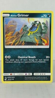 Alolan Grimer  83/181   SM: Team Up  Common Mint Pokemon