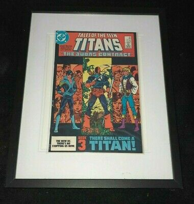 Tales Of The Teen Titans Issue 44 First Appearance Of Nightwing In Glass Frame!!