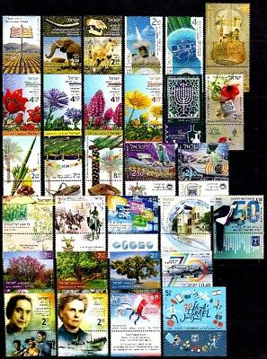 Israel 2018 Year Set - The Complete Annual Stamps & Souvenir Sheets Issue - Mnh