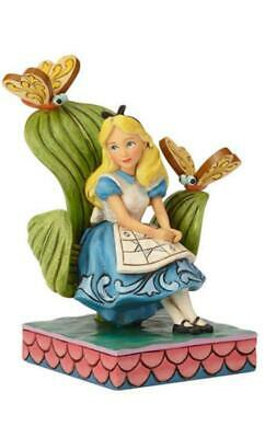 Disney Tradition Series Alice In Wonderland Wood Carving Figure From Japan R0