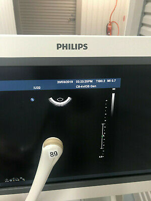 philips c8 4v curved array ultrasound transducer probe suit iu22 ie33 4535612875