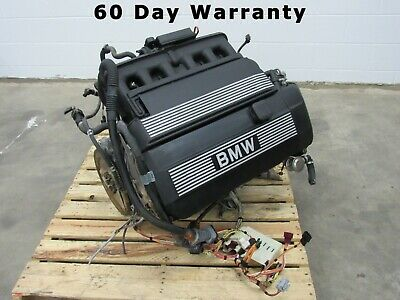 04 05 Bmw 525i 2.5l M54b25 Complete Engine Motor 117k Tested 60 Day Warranty A