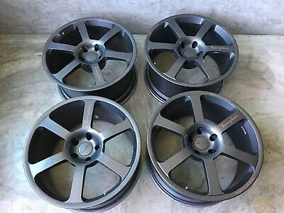 "Tommy Kaira Pro R Wheels Set 19"" X 9.5 +22  Super Rare Skyline R34 Bnr34"
