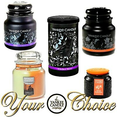 Yankee Candle Classic Jar Candle 🎃 Your Choice 🎃 New & Fresh Halloween Candles