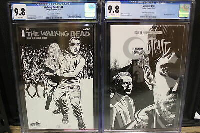 Outcast #10 & Walking Dead #144 Set Image Comics Image/skybound Modern Age