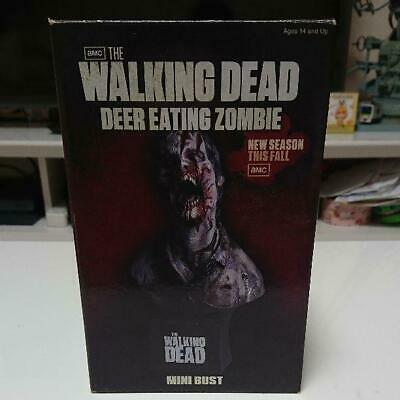 Neca Walking Dead Mini Bust Deer Eating Zombie Figure 2011 Limited Edition
