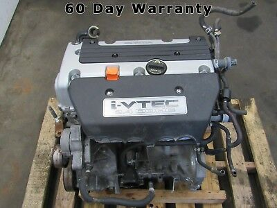 05 06 Honda Crv Cr-v 2.4l K24a1 Complete Engine Motor 124k 60 Day Warranty A