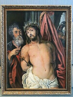 Christ With The Crown Of Thorns (peter Paul Rubens), Painting Reproduction