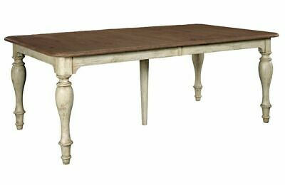 Kincaid Weatherford Canterbury Rustic Farmhouse Rectangular Dining Table 75-054