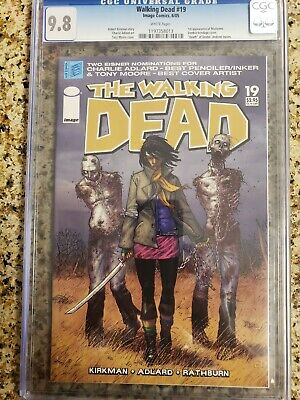 Walking Dead #19 Cgc 9.8 1st Appearence Michonne.