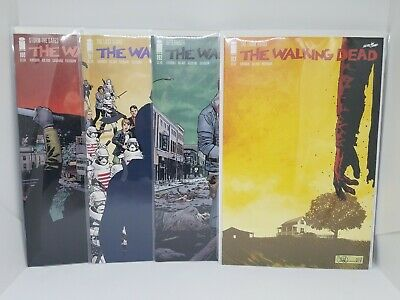 The Walking Dead #190 Through 193 Death Of Rick Grimes And Finale Of Twd Kirkman