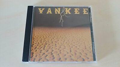 Yankee - Self Titled Brazil Cd - Impossible To Find Hard Rock Cd - Listen 1992