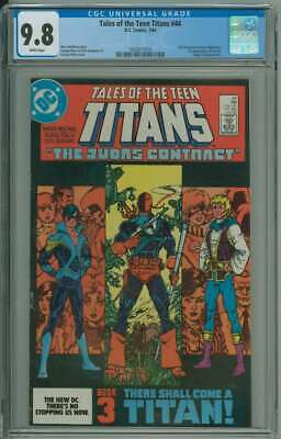 Tales Of The Teen Titans #44 Cgc 9.8 White Pages