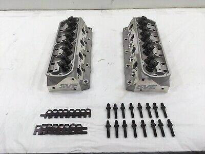 1979-95 Mustang 5.0/5.8l Sve Fully Assembled 185cc Stud Mount Heads