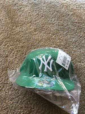 New Era New York Yankee 5950 2016 St Patricks Day 7 1/8 Mlb  Nwt Authentic Nib