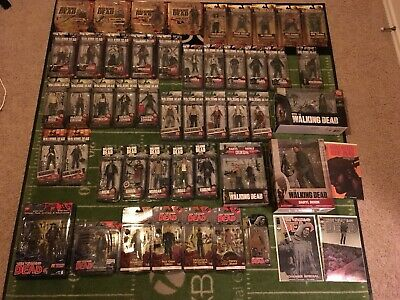 Amc The Walking Dead Mcfarlane Figures