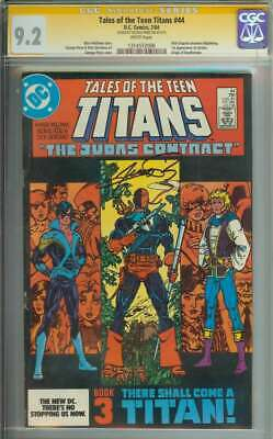 Tales Of The Teen Titans #44 Cgc 9.2 White Pages