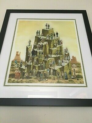 Scott Campbell, Upon The Mount, Breaking Bad, Artist Proof (ap), Rare Print 2013