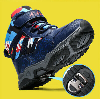 32-39 Kids Boys Sports Hiking Climbing Boots Shoes Trainers Walking Camp Outdoor